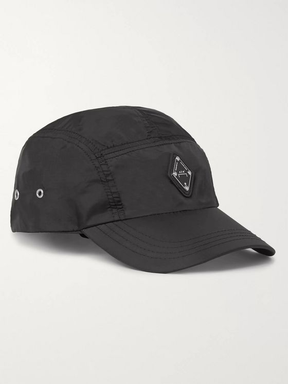 A-COLD-WALL* Logo-Appliquéd Nylon Baseball Cap