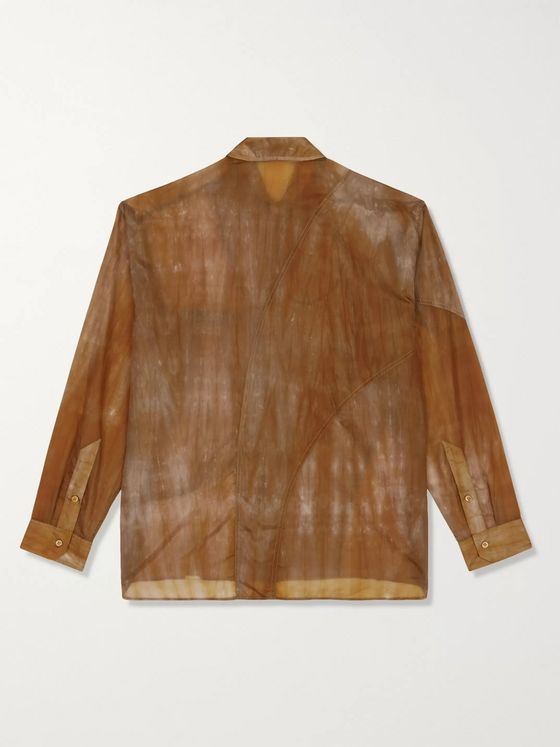 A-COLD-WALL* Corten Tie-Dyed Nylon Shirt