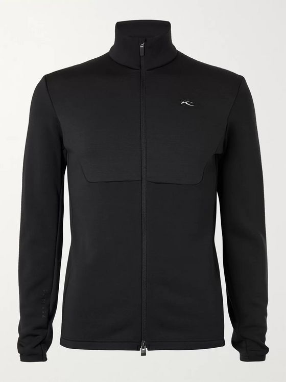 Kjus 7SPHERE Panelled Stretch-Jersey Zip-Up Ski Base Layer