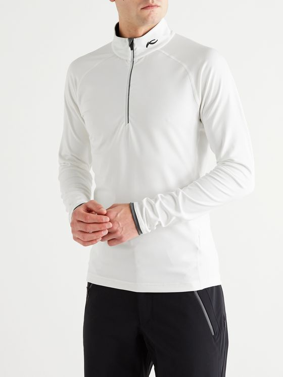 Kjus Feel Stretch-Jersey Half-Zip Ski Mid-Layer