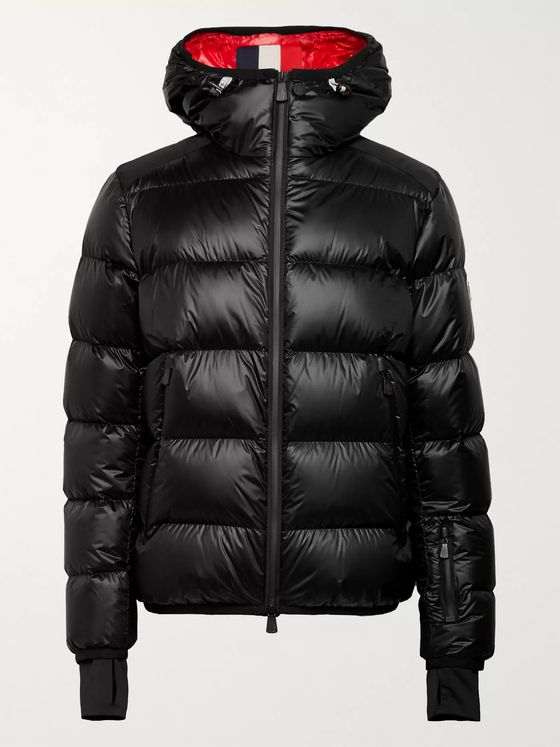 Moncler Grenoble Hintertux Slim-Fit Quilted Shell Down Ski Jacket