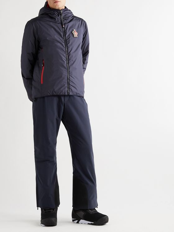Moncler Grenoble Padded Stretch-Shell Ski Salopettes