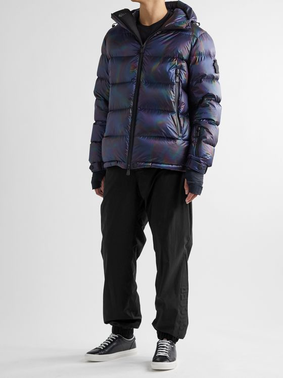 Moncler Grenoble Logo-Embossed Stretch-Shell Ski Trousers
