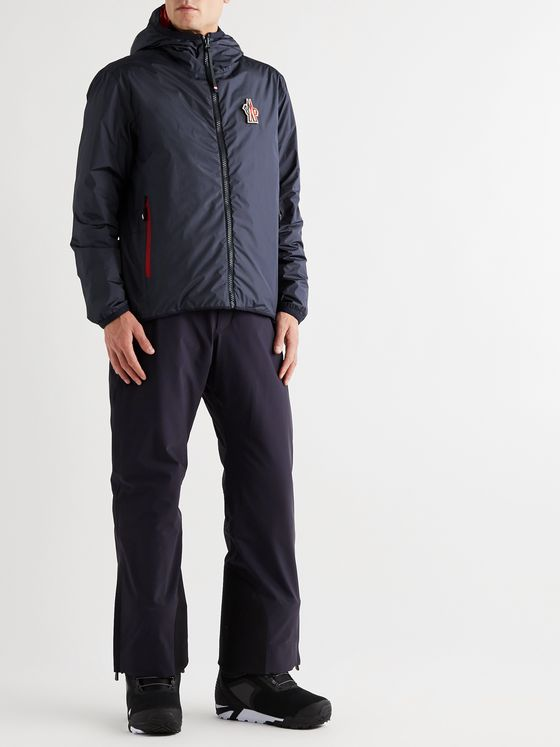 Moncler Grenoble Chambave Reversible Logo-Appliquéd Quilted Shell Down Hooded Ski Jacket