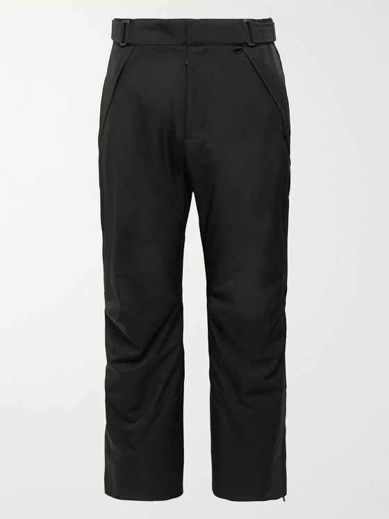 Moncler Grenoble Canvas-Trimmed Shell Ski Trousers