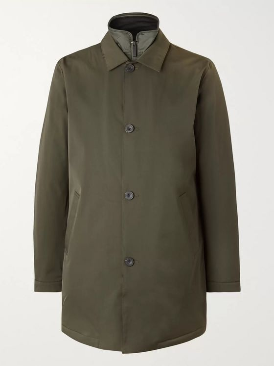NN07 Blake Shell Car Coat with Detachable PrimaLoft Liner