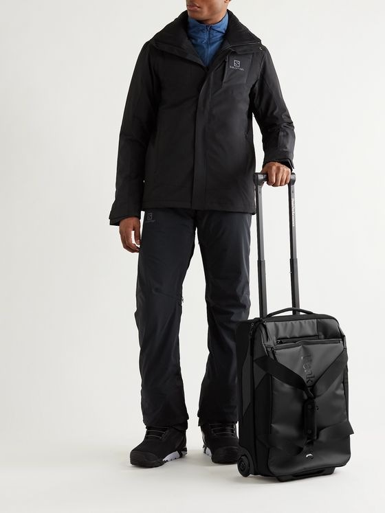 Peak Performance Vertical Tarpaulin and Nylon Carry-On Suitcase
