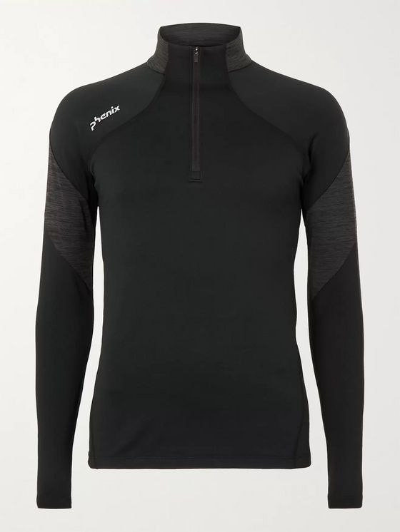Phenix Alto Stretch-Jersey Half-Zip Ski Base Layer