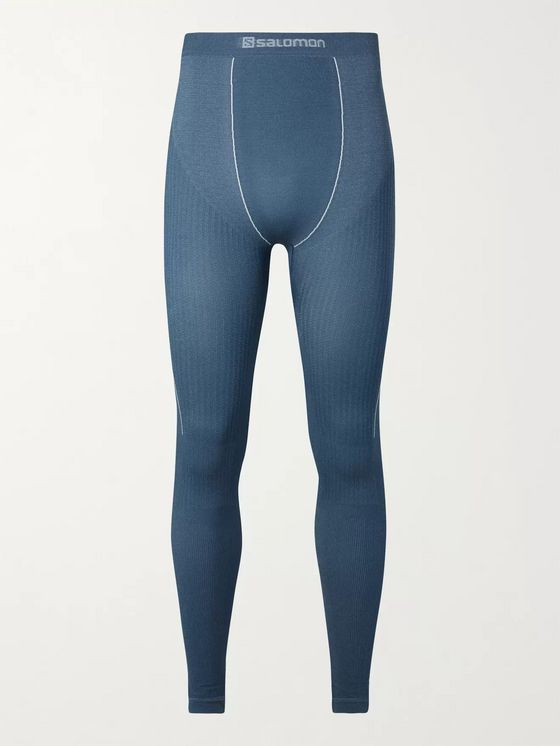 SALOMON Primo Warm Stretch-Jersey Thermal Ski Tights