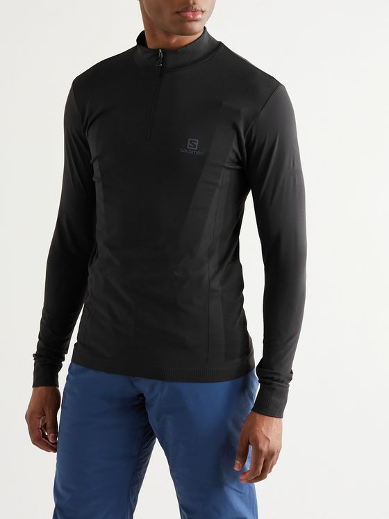 SALOMON Explore Stretch-Jersey Mid-Layer