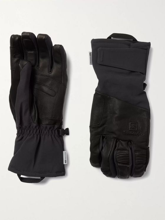 SALOMON Propeller Plus Shell and Leather Gloves