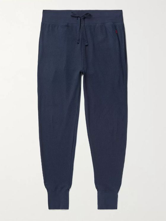 Polo Ralph Lauren Slim-Fit Fleece-Back Cotton-Blend Jersey Pyjama Trousers