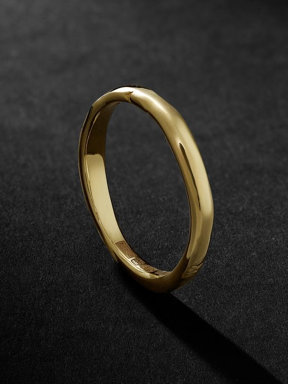 Bleue Burnham The Stem 9-Karat Gold Ring