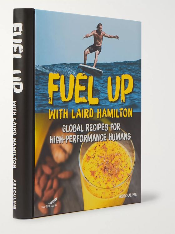 ASSOULINE Fuel Up with Laird Hamilton: Global Recipes for High-Performance Humans Hardcover Book
