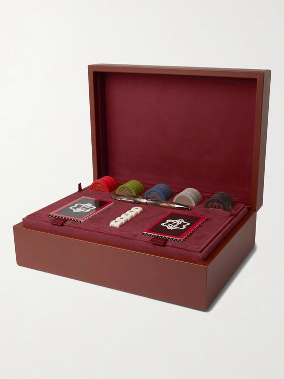 MONTBLANC + Purdey The Art of Gifting Poker Set