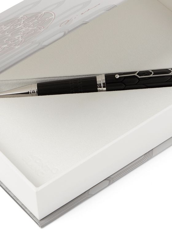 Montblanc Writers Edition Victor Hugo Resin and Platinum-Plated Ballpoint Pen