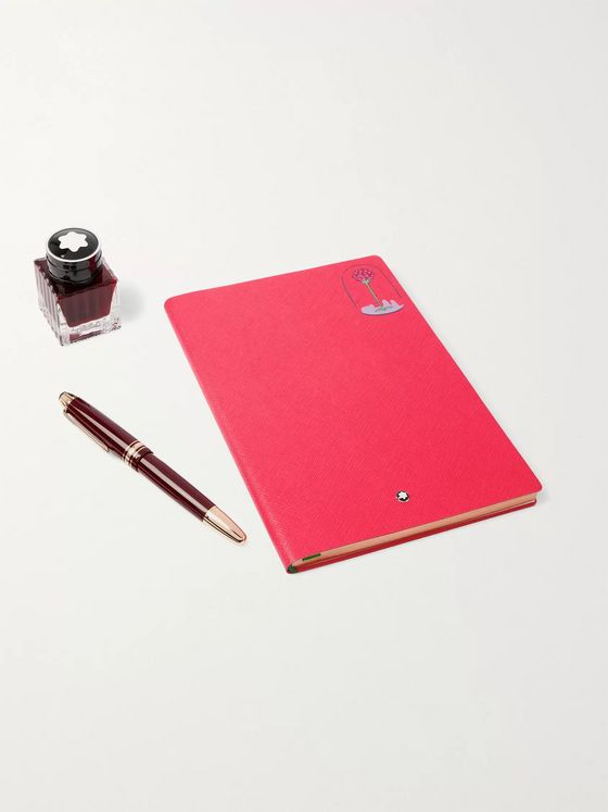 MONTBLANC Le Petit Prince Happy Holiday Rose Writing Set