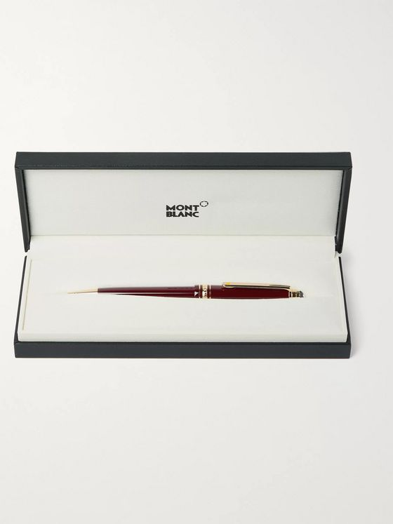 Montblanc Meisterstück Le Petit Prince Resin and Platinum-Plated Rollerball Pen