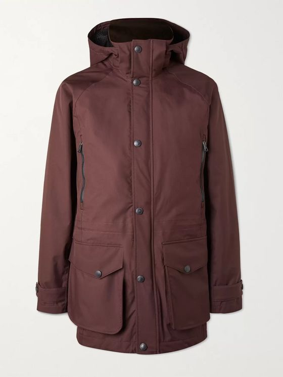 PURDEY Shell Hooded Jacket