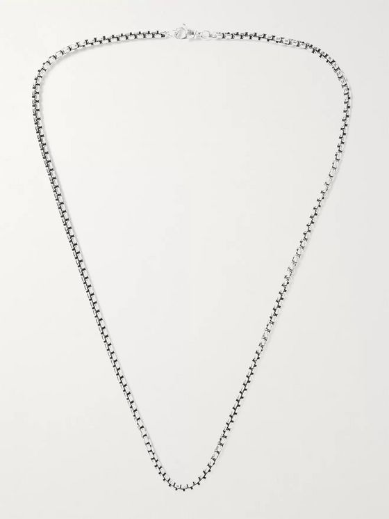 David Yurman Sterling Silver Chain Necklace