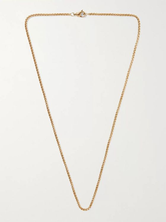 David Yurman 18-Karat Gold Chain Necklace