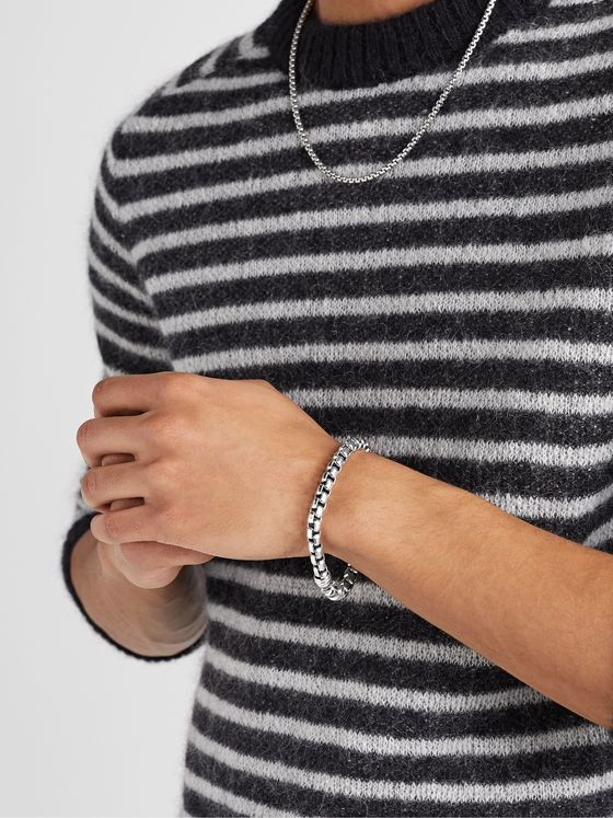 David Yurman Sterling Silver Chain Bracelet