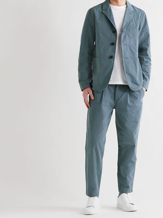 MR P. Garment-Dyed Cotton Blazer