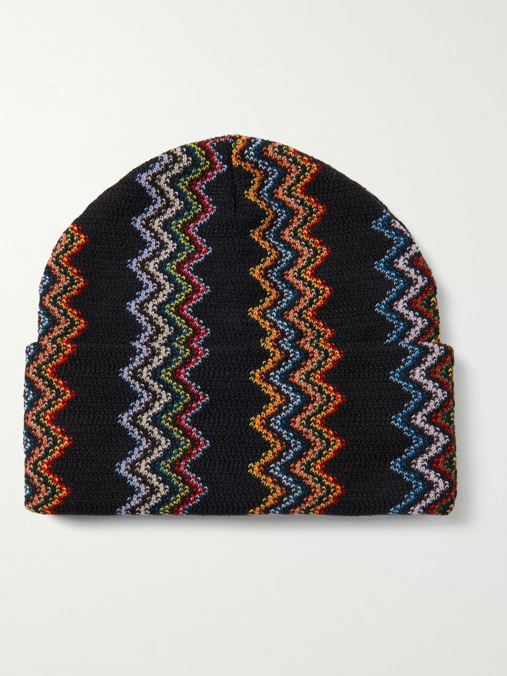 Missoni Crochet-Knit Wool Beanie