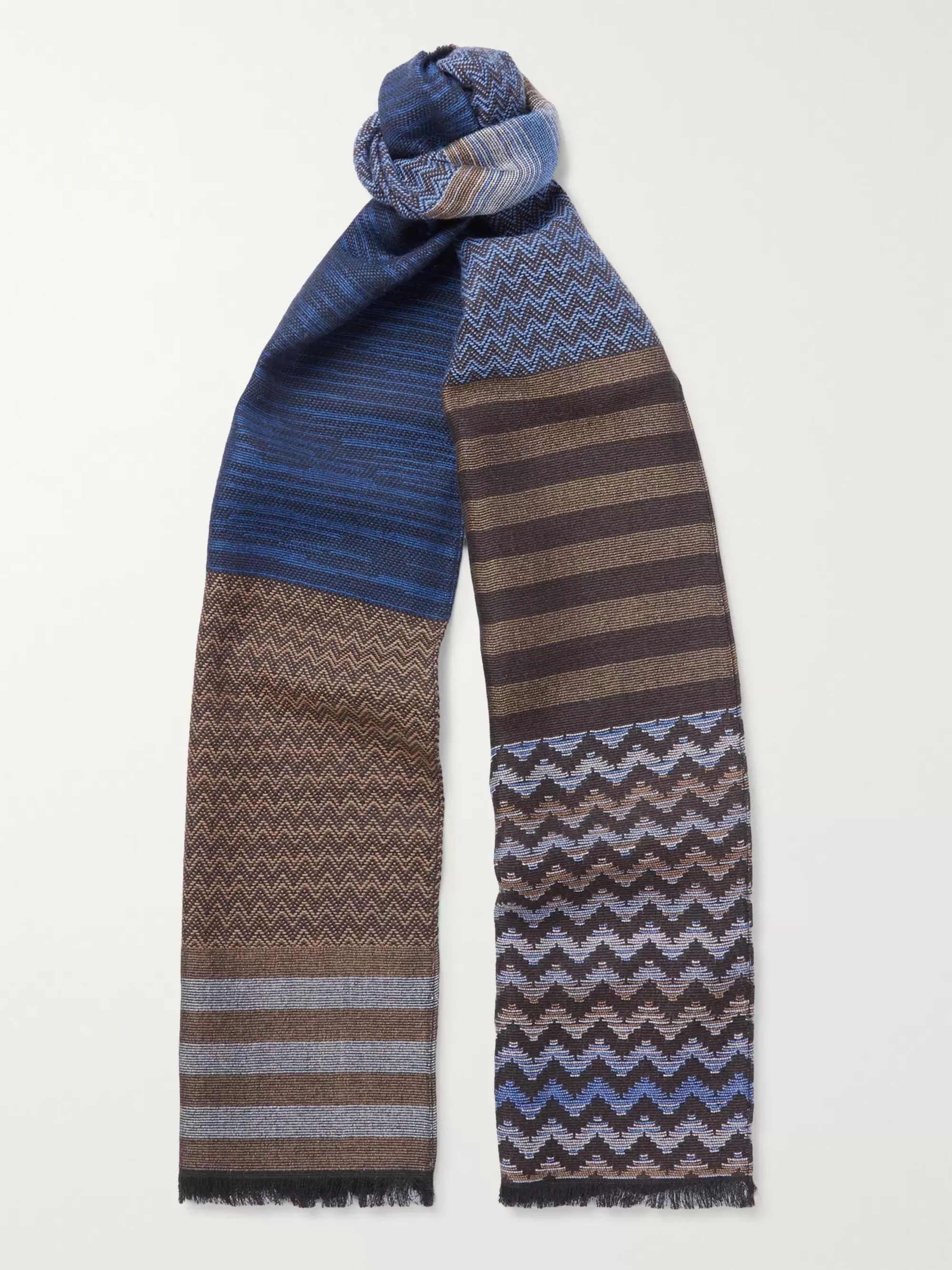 Missoni Fringed Wool Scarf