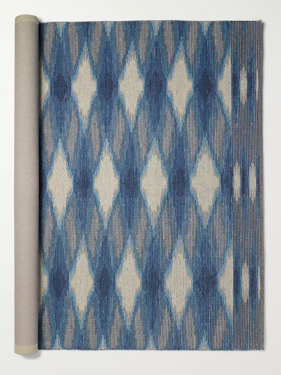 Missoni Home Woolacombe Wool and Cotton-Blend Jacquard Rug