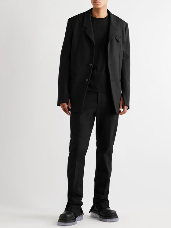 BOTTEGA VENETA Slim-Fit Tech-Twill Suit Jacket
