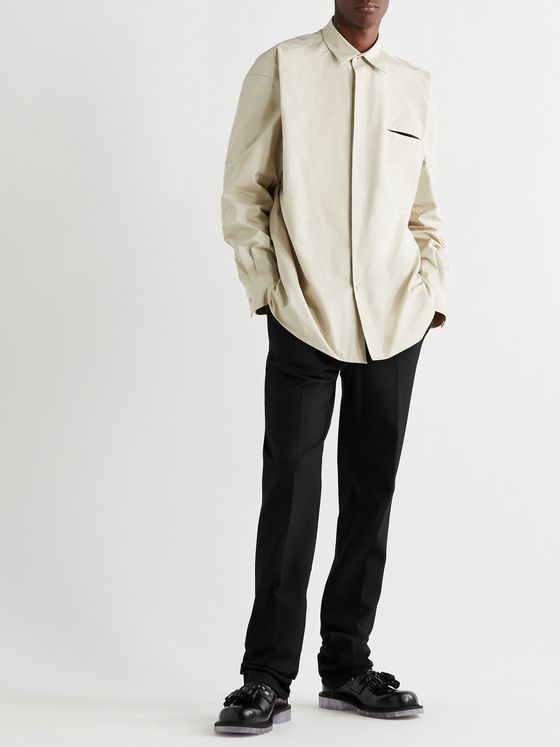 BOTTEGA VENETA Tech-Twill Suit Trousers