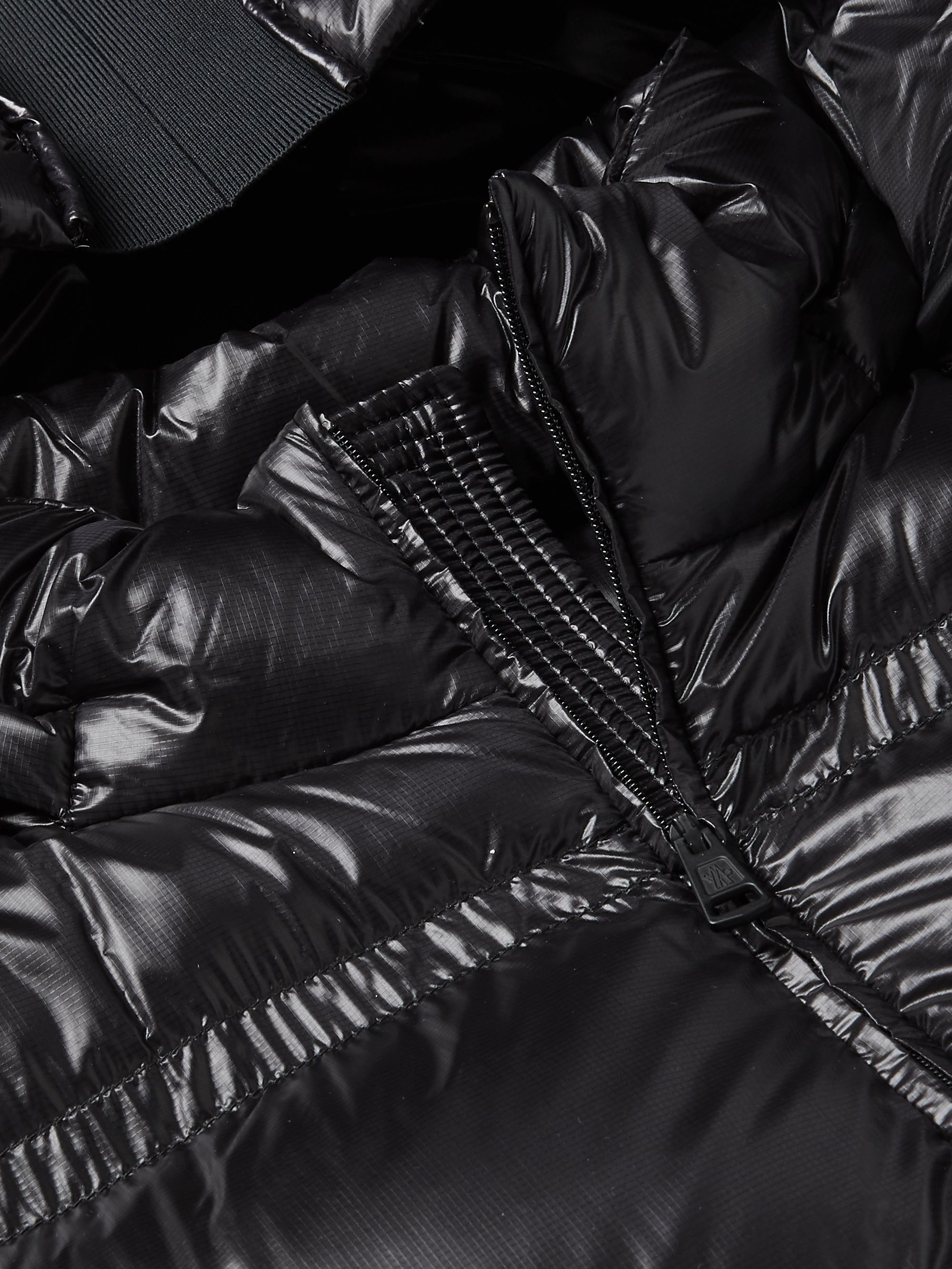 Black 5 Moncler Craig Green Harold Jersey-panelled Quilted Shell Down Gilet   Genius