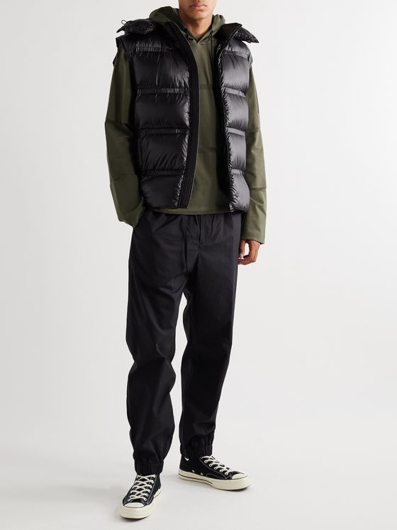 Moncler Genius 5 Moncler Craig Green Harold Jersey-Panelled Quilted Shell Down Gilet