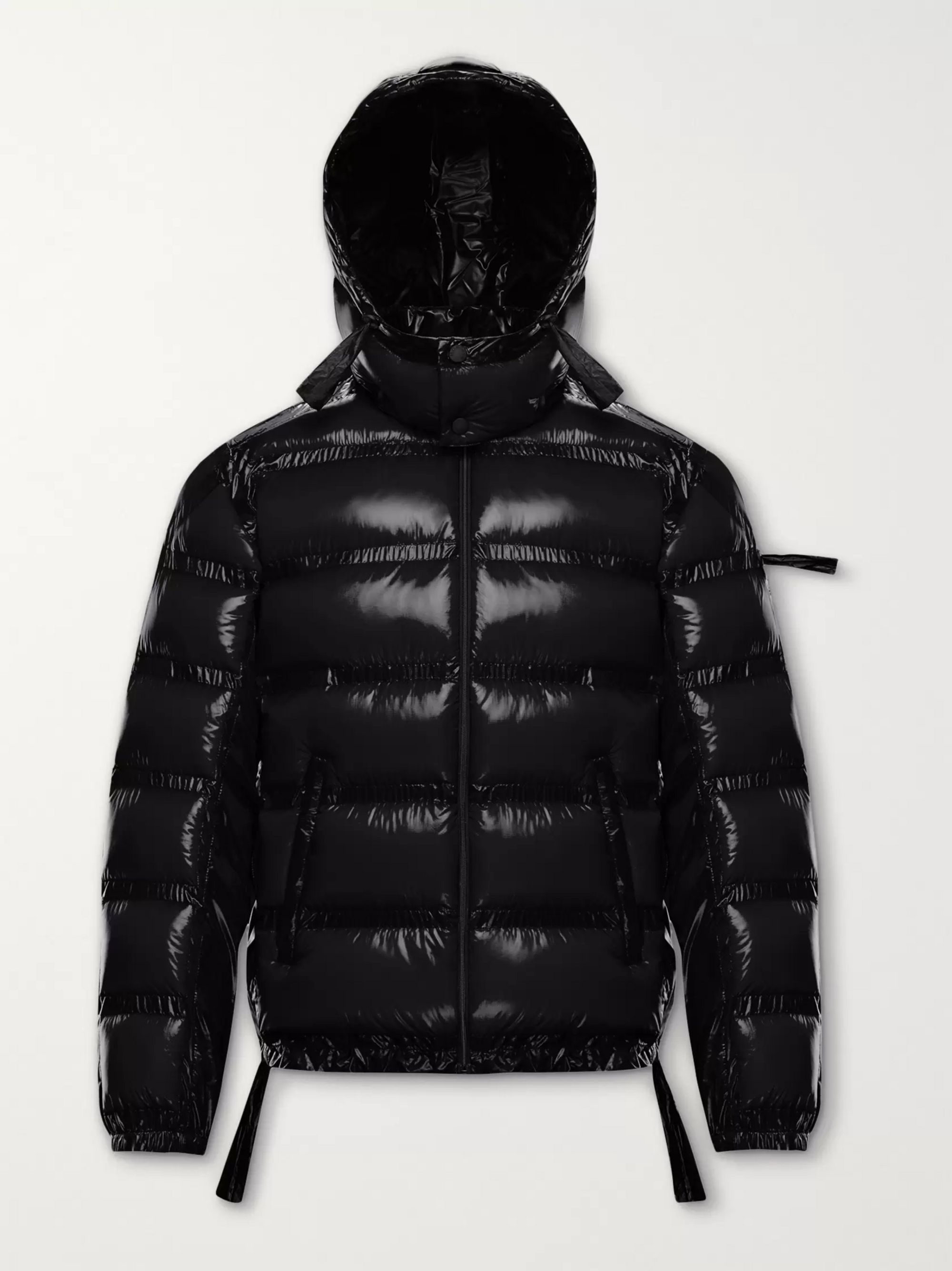 Black 5 Moncler Craig Green Lantz Padded Quilted Shell Hooded Down Jacket | Genius