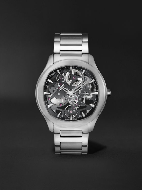 PIAGET Polo Skeleton Automatic 42mm Stainless Steel Watch, Ref. No. G0A45001