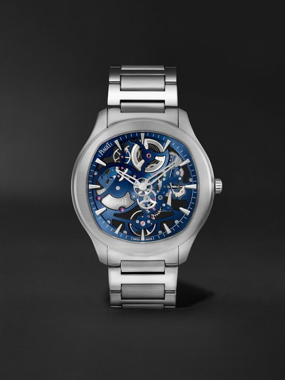 PIAGET Polo Skeleton Automatic 42mm Stainless Steel Watch, Ref. No. G0A45004