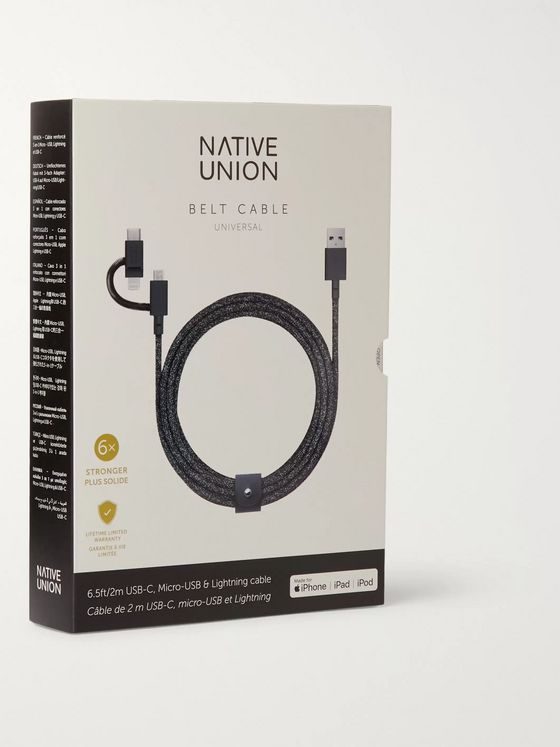 Native Union Universal Lightning and USB-C Cable