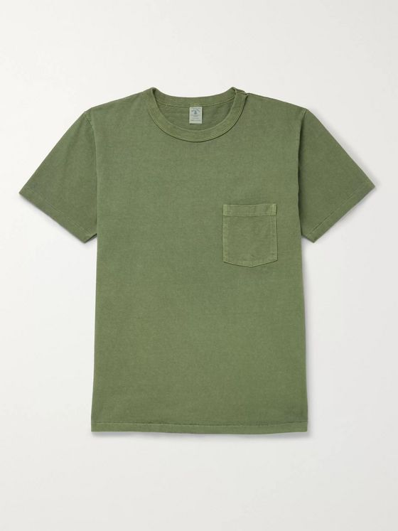 Velva Sheen Cotton-Jersey T-Shirt