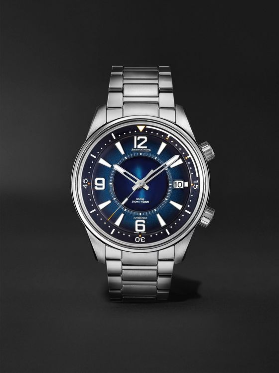 Jaeger-LeCoultre Polaris Mariner Date Automatic 42mm Stainless Steel Watch, Ref. No. 9068180