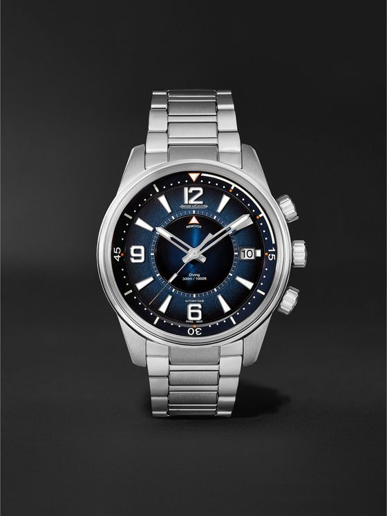 JAEGER-LECOULTRE Polaris Mariner Memovox Automatic 42mm Stainless Steel Watch, Ref. No. 9038180