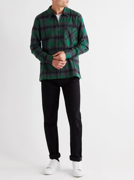 MR P. Checked Woven Shirt
