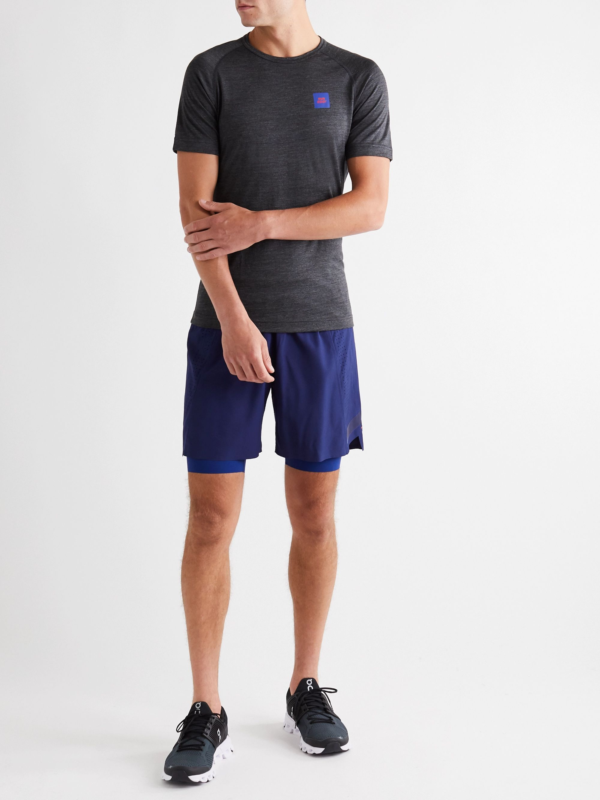 Soar Running Three Season 4.0 Layered Shell Shorts
