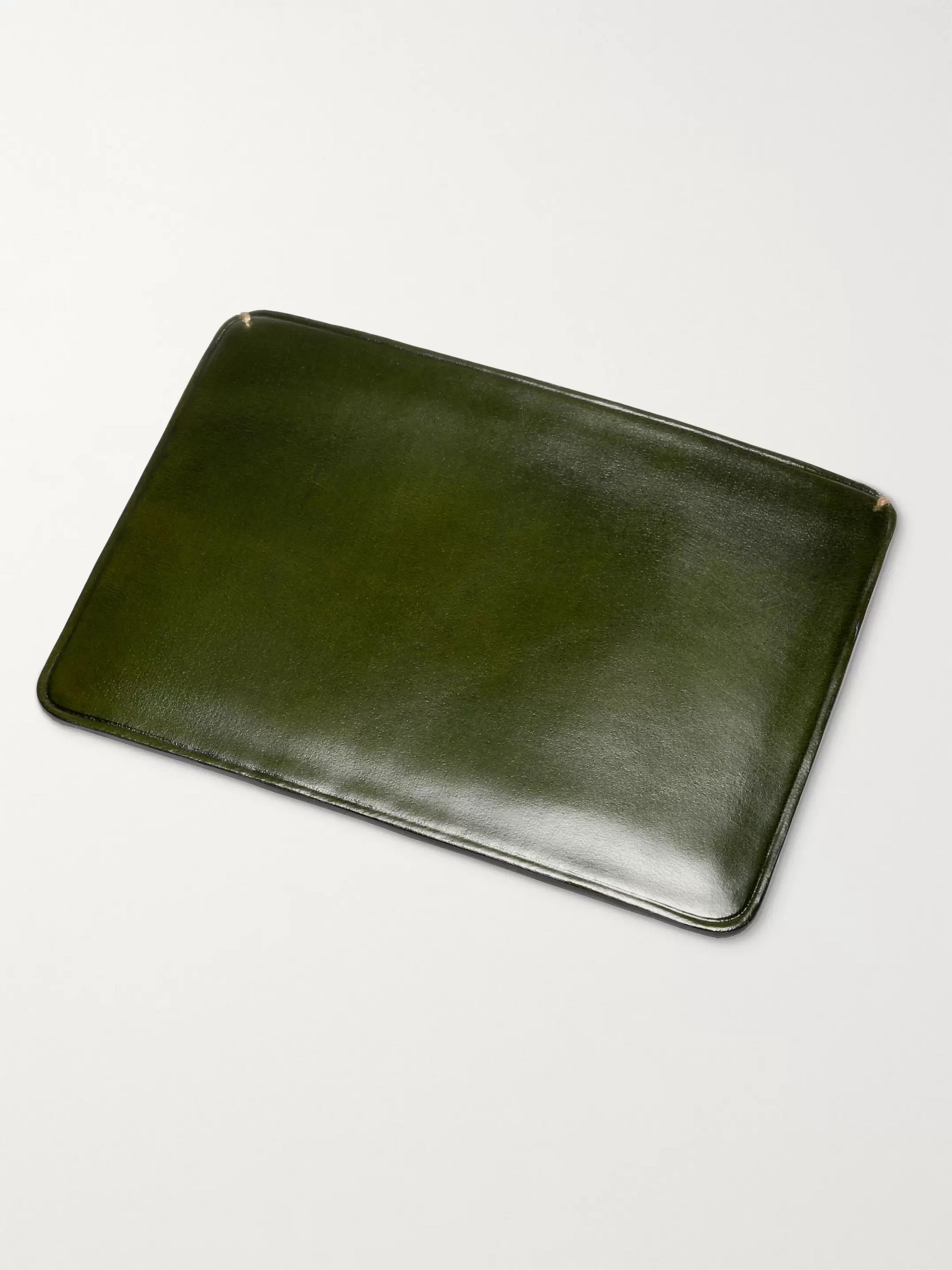 Il Bussetto Polished-Leather Cardholder
