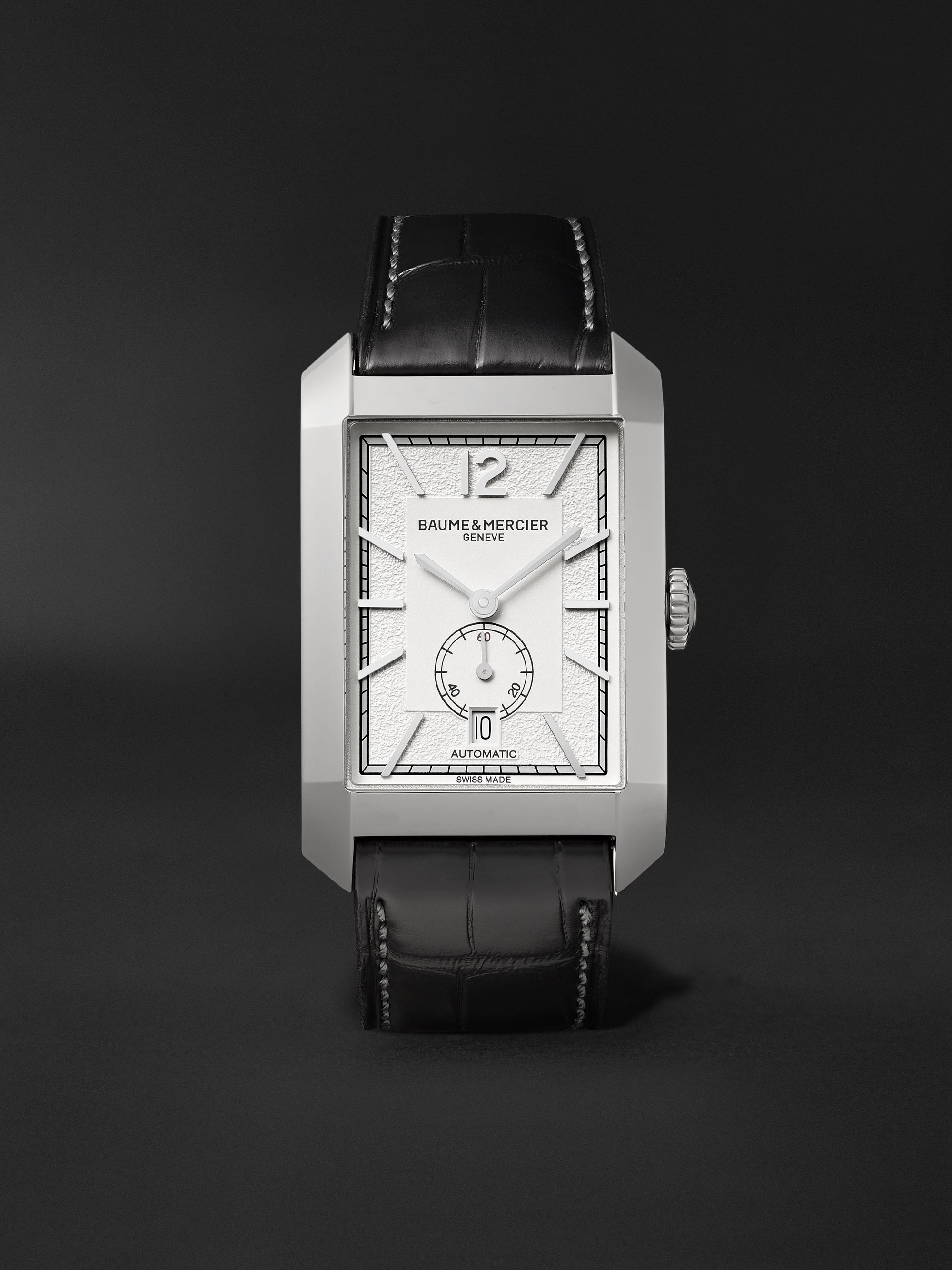 Baume & Mercier Hampton Automatic 31mm Stainless Steel and Alligator Watch, Ref. No. M0A10528