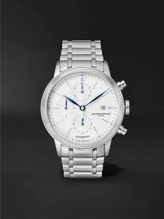 BAUME & MERCIER Classima Automatic Chronograph 42mm Stainless Steel Watch, Ref. No. M0A10331