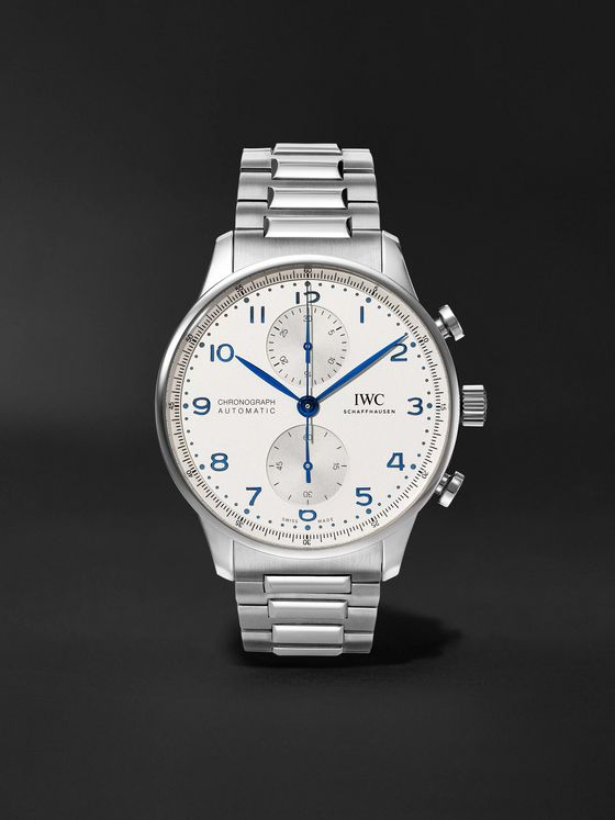 IWC SCHAFFHAUSEN Portugieser Chronograph 41mm Stainless Steel Watch, Ref. No. IW371617