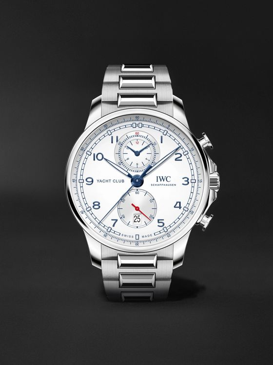 IWC SCHAFFHAUSEN Portugieser Yacht Club Automatic Chronograph 44.6mm Stainless Steel Watch, Ref. No. 	IW390702