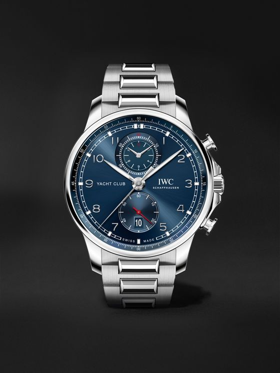 IWC SCHAFFHAUSEN Portugieser Yacht Club Automatic Chronograph 44.6mm Stainless Steel Watch, Ref. No. IW390701
