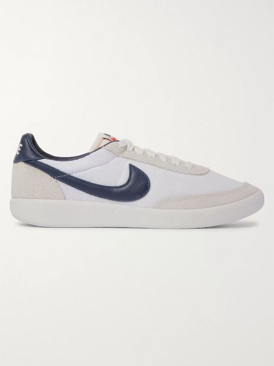 Nike Killshot OG SP Mesh, Leather and Suede Sneakers